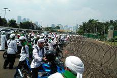 Akses Jalan Menuju Kompleks Parlemen Ditutup