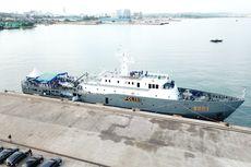Kapal Patroli Yudistira 8003 Perkuat Pengamanan Perairan Kepulauan Riau