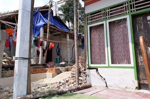 36 Rumah Rusak Berat akibat Pergerakan Tanah, BPBD Bangun Posko Darurat