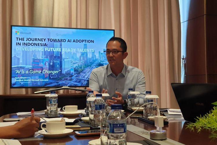 Haris Izmee, Presiden Direktur Microsoft Indonesia