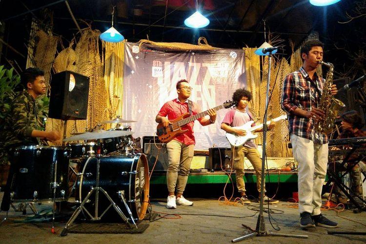 Acara Jazz Mben Senen diadakan di Bentara Budaya Yogyakarta setiap Senin.