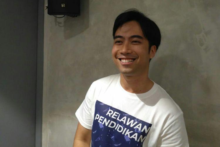 Penyanyi Vidi Aldiano saat ditemui di Mal FX, kawasan Senayan, Jakarta Pusat, Selasa (30/4/2019).