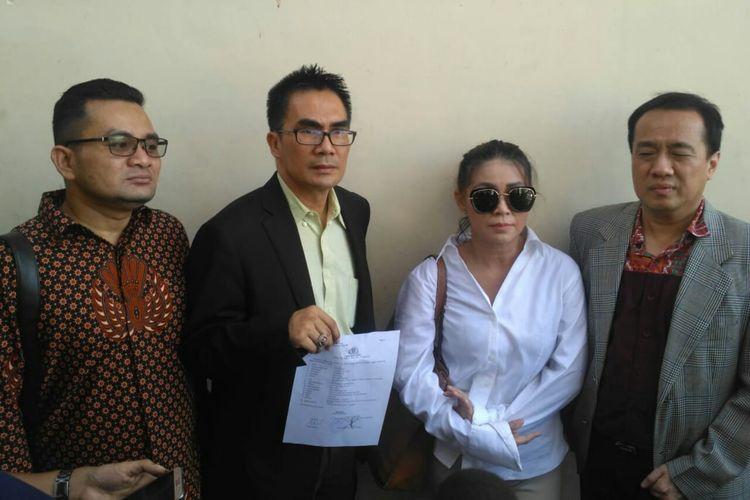 Foto Dituduh Langgar Perjanjian Baim Wong Dan Lucky Perdana Dilaporkan Ke Polisi