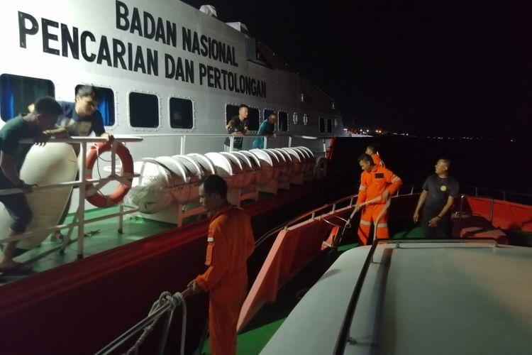 Sebuah speed boat tanpa nama, yang membawa 10 Pekerja Migran Indonesia (PMI) ilegal, tenggelam di Perairan Nongsa Batam, Kepulauan Riau, Senin (6/5/2019).