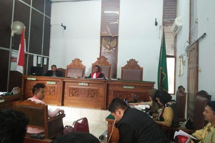 Sidang lanjutan praperadilan Romahurmuziy saksi dari KPK, Kamis (9/5/2019).
