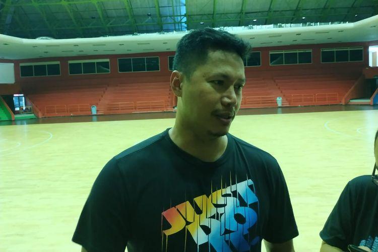 Pelatih tim nasional bola basket putra Indonesia, Wahyu Widayat Jati.