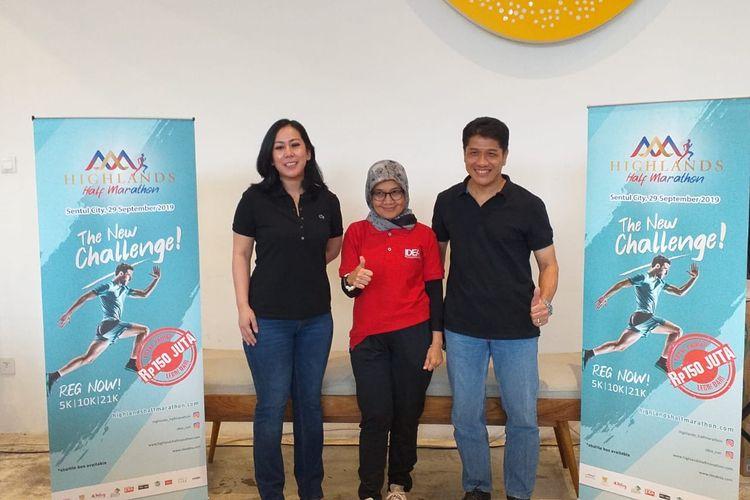 Highlands Half Marathon 2019 di Sentul City, Bogor, akan diikuti 3.000 pelari yang nantinya terbagi dalam sejumlah kategori lari.