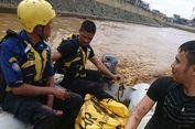 Jasad Pria Ganguan Jiwa yang Hanyut di Ciliwung Berhasil Ditemukan