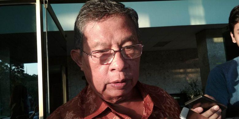 Menteri Koordinator Perekonomian RI, Darmin Nasution Ketika Ditemui di Kantornya, Jakarta, Jumat (9/6/2017).