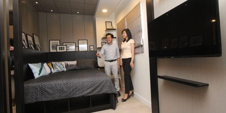Keinginan Pikko Group menggandeng Zenin menggarap desain Signature Park Grande tidak terbatas pada hunian dua kamar tidur, tapi juga tipe lainnya.