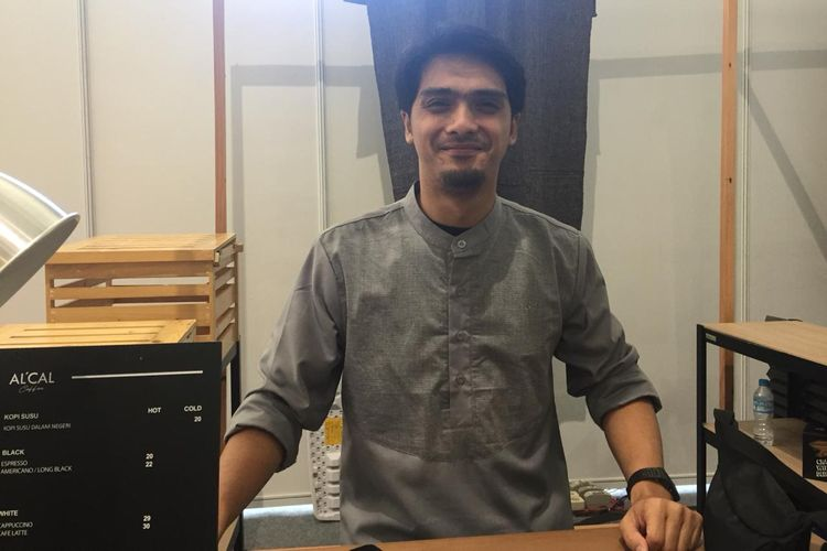 Artis peran Ricky Harun saat ditemui di JCC, Senayan, Jakarta Pusat, Jumat (24/5/2019).