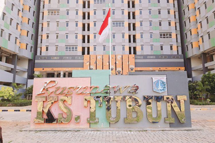 Rusunawa KS Tubun, Jakarta Barat, Selasa (25/6/2019)