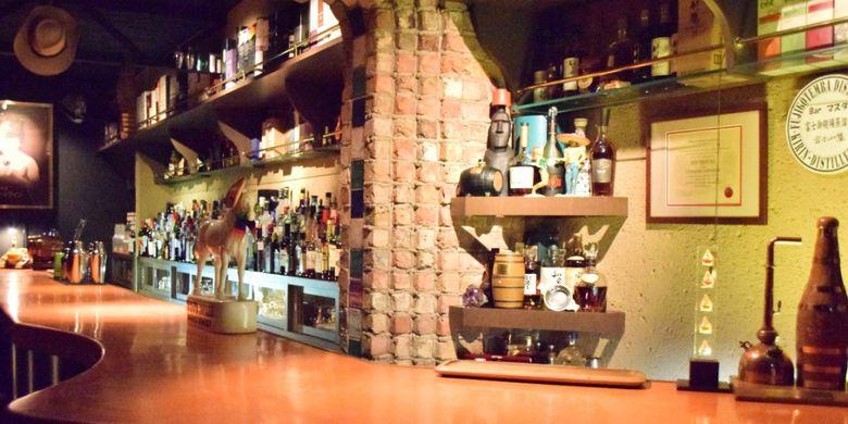 Suasana retro di Bar Masuda