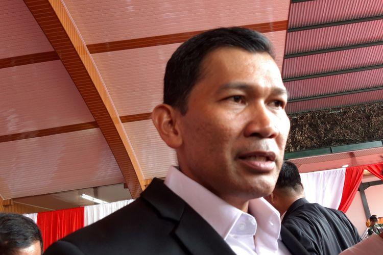Kapendam Jaya Kolonel Kristomei di Kodam Jaya, Cawang, Jakarta Timur, Senin (17/12/2018)