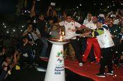 Salam Satu Jiwa Iringi Kedatangan Obor Asian Games 2018 di Malang