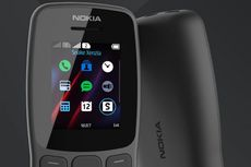 Ponsel Fitur Nokia 106 (2018) Meluncur, Harga Rp 300.000-an