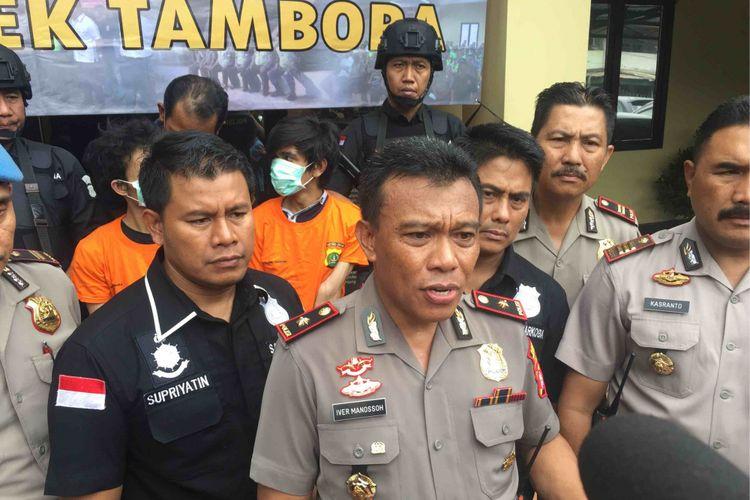 Polisi menembak mati seorang pelaku pencurian dengan kekerasan,  yang kerap beraksi di daerah Jakarta Barat, Kamis (3/5/2018).
