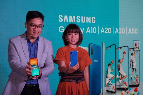 Resmi Masuk Indonesia, Ini Harga Samsung Galaxy A50 dan Galaxy A30