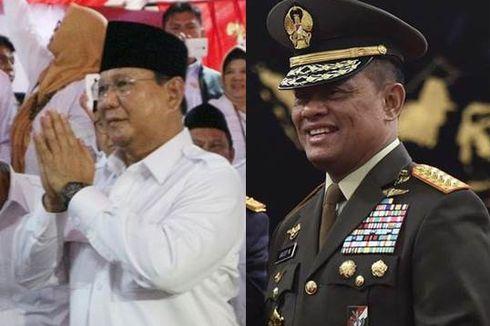 Gerindra: Tak Ada Halangan Memasangkan Capres dan Cawapres dari Militer