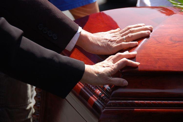 Pemakaman.
