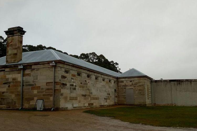 Bangunan yang dinamakan separate prison ini digunakan untuk melakukan hukuman psikologis untuk narapidana.