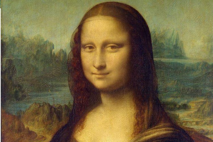 Mona Lisa. Salah satu lukisan Leonardo da Vinci yang paling terkenal.