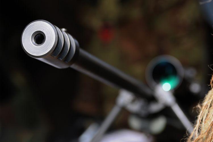 Ilustrasi penembak jitu.