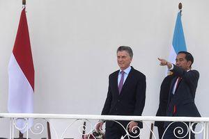 Presiden Argentina Ucapkan Selamat Jokowi Terpilih dalam Pilpres 2019