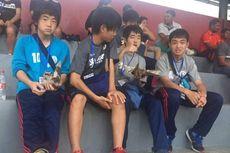 Pemain Progresso Sano FC Jepang Doyan Sate
