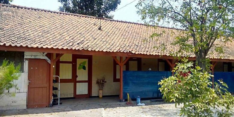 Bangunan yang dulunya merupakan asrama siswa HKS Purworejo atau sekolah guru.