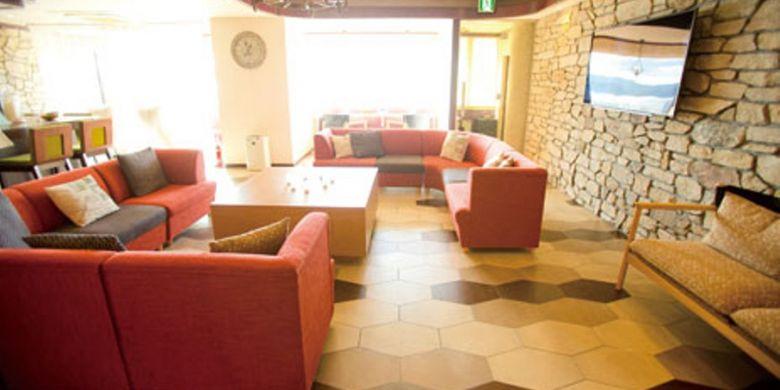 lounge khusus untuk tamu, Sorafune