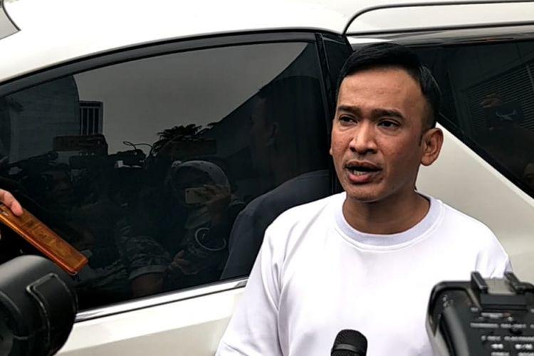 Ruben Onsu saat ditemui di kawasan Tendean, Jakarta Selatan, Selasa (30/10/2018).