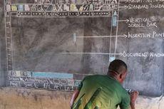 Viral Guru Mengajar Microsoft Word dengan Papan Tulis Berbuah Bantuan
