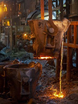 Proses pengolahan nikel PT Vale di Sorowako, Sulawesi Selatan. Gambar diambil pada 30 Maret 2019.