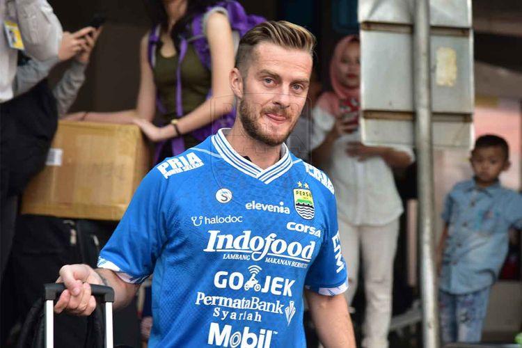 Gelandang anyar Persib Bandung asal Slovenia, Rene Mihelic.