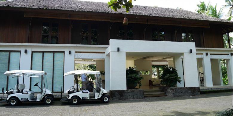 Como Shambala Estate di Ubud, Bali, Jumat (15/12/2017).