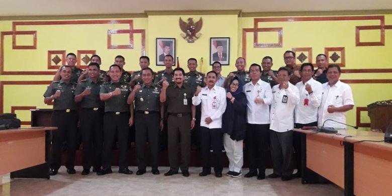 Sukseskan Program Serasi di Kalsel, Kementan Gandeng TNI AD