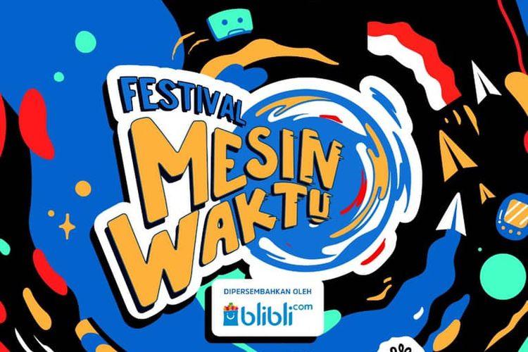 Poster acara Festival Mesin Waktu 2019.