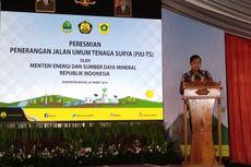 900 Lampu Jalan Bertenaga Surya Diresmikan di Bogor