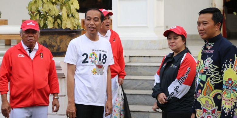 Menko PMK Targetkan Tim Indonesia Masuk 10 besar di Asian Games