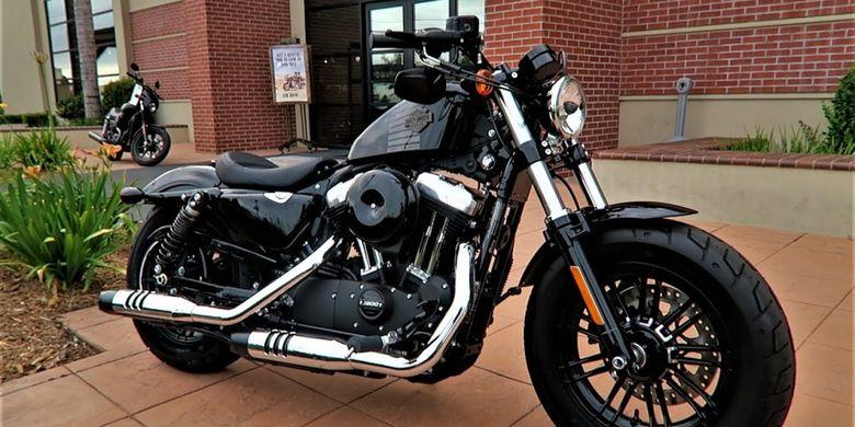 Harley Davidson Forty-Eight(Youtube/Matt Laidlaw)