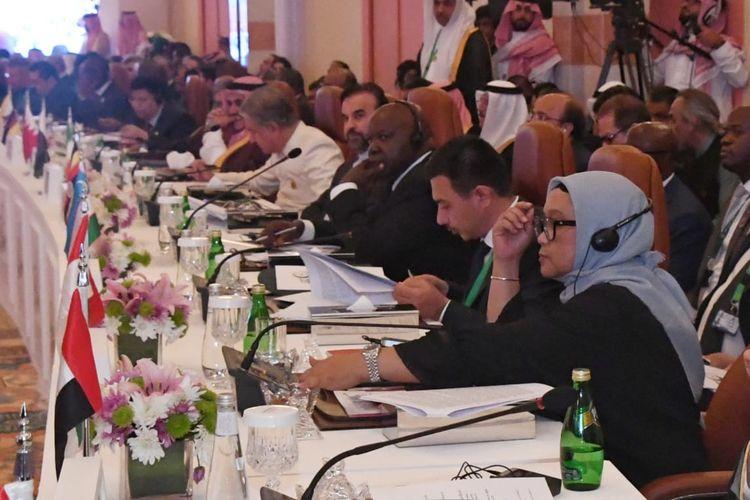Menlu RI Dorong Negara OKI Solidkan Dukungan ke Palestina