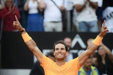 Juara Italian Open 2018, Rafael Nadal Kembali ke Nomor Satu Dunia
