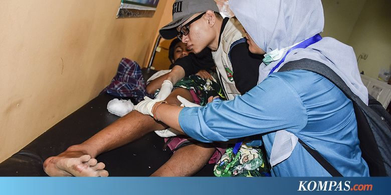 BMKG: 42 Gempa Susulan Guncang Lombok  - Kompas.com