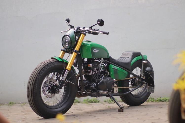 Kawasaki W175 Chopper Jokowi