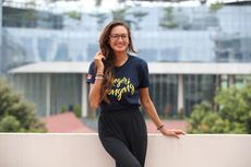 Nadine Chandrawinata Kampanyekan Bahaya Sampah Sedotan Plastik