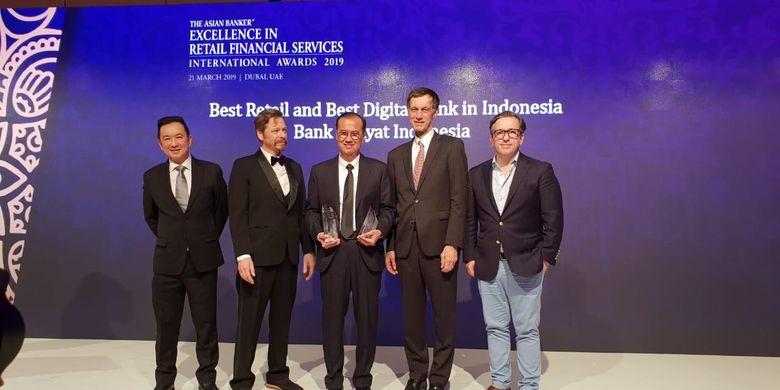 BRI Sabet 2 Penghargaan dari The Asian Banker