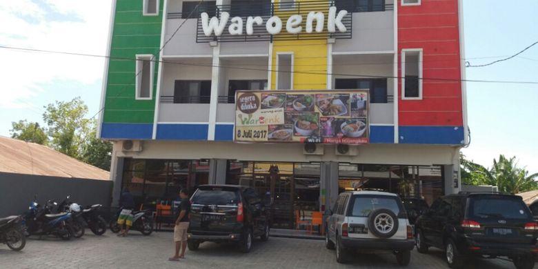 Waroenk Resto and Cafe menjadi tempat nongkrong favorit anak muda di Kota Kupang, Nusa Tenggara Timur (NTT).