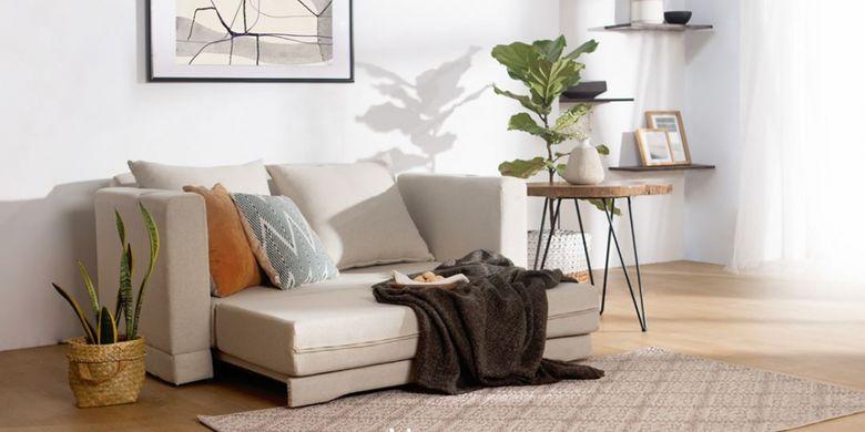 Pilih sofabed yang bisa dengan mudah dibuka dan dilipat kembali.
