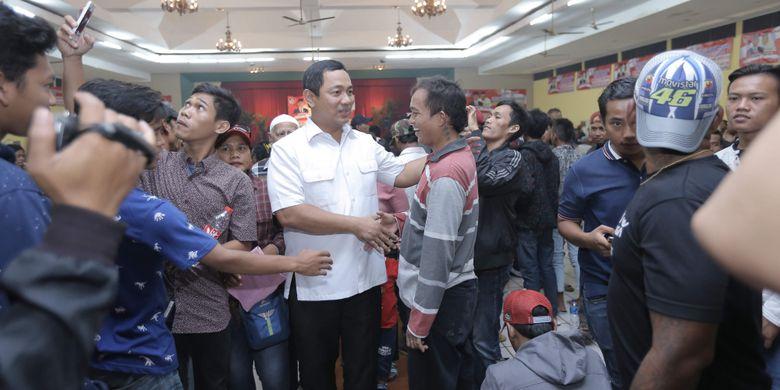 Ribuan Tukang Parkir di Semarang Deklarasi Dukungan ke Jokowi